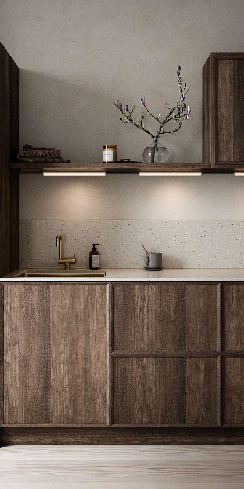 iluminación para cocina